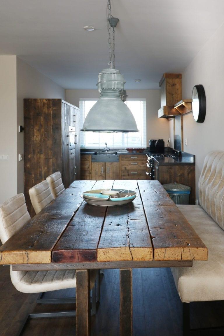 Tafel gebruikt hout | Op maat | Esgrado